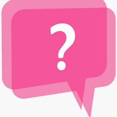 951 9511383 Pink Question Mark Png
